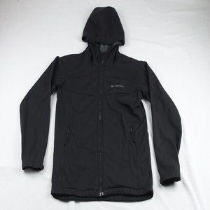 Columbia Women's Large Black Fleece Zip-up Jacket